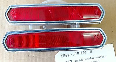 1968 Ford Shelby Mustang Cougar Side Marker Reflectors 1 Set