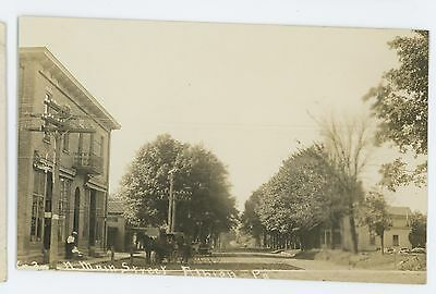 RPPC N Main Street ALBION PA Erie County Pennsylvania Real Photo Postcard