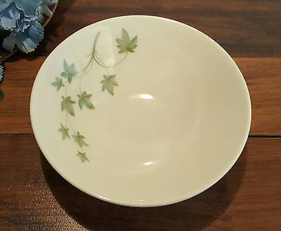 Peter Terris SHENANGO China Small BOWLS Green IVY Pattern (6 AVAILABLE)