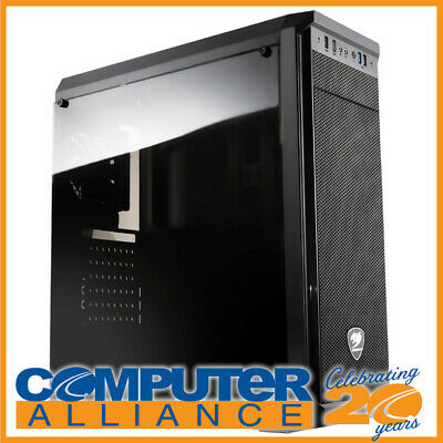 Cougar ATX MX330 Case Black with Clear Side Window (No PSU)