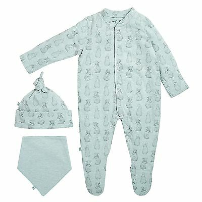 The Little Green Sheep Wild Cotton Baby / Child / Kids Sleep Suit Gift Set
