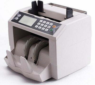K-301 Vertical Digital Money Counter EURO US DOLLAR Bill Cash Counting Machine