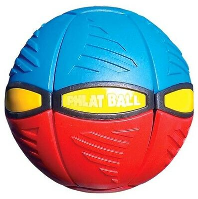 New Britz'n Pieces Phlat Ball V3 Red/blue Bma756 Outdoor Toys