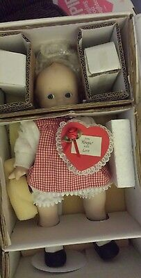 """Kewpie Porcelain 12"""" Be Mine"""" Doll Exclusively From The Danbury Mint."""