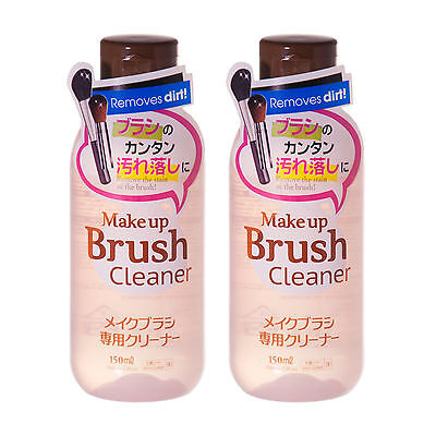 DAISO JAPAN Make Up Brush Cleaner Cosmetic BRUSH CLEANSER - 150 mL / Twin Pack