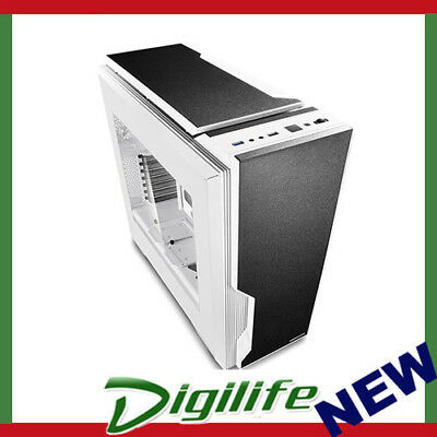 DeepCool Black & White Dukase V2 ATX Mid Tower Chassis USB3.0 PC Case