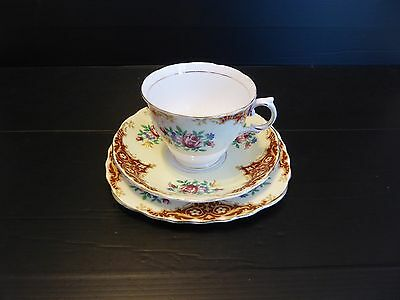 Vintage Colclough Bone Chine Tea Set Trio