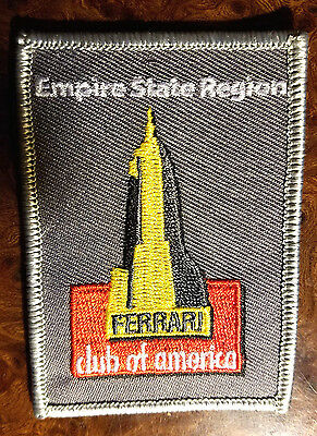 FERRARI Club of America, Empire State Region Embroidered Patch FCA Vintage