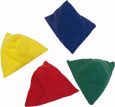 Childrens Garden Game Fun Activity Play Pyramid Bean Bag Pack Of 4