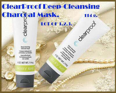 Mary Kay ClearProof Deep-Cleansing Charcoal Mask 114g.pcs 1 . 2.