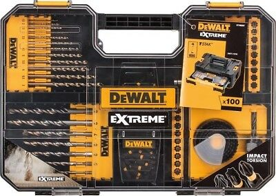 DEWALT Extreme Drill & SDS Set | 100 Piece Power Tool Accessory Kit