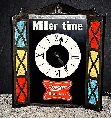 Miller High Life lighted Clock
