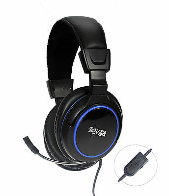 Casque Micro Gaming Stereo Filaire Pour Gamer PS4 Sony Playtation 4 - Neuf !