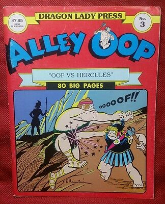 Alley Oop OOP VS. HERCULES 80 PAGES Dragon Lady Press No. 3  January 1988