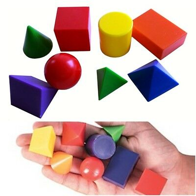 48  (6 x 8) 3D Geometric Shapes: Classroom Resource
