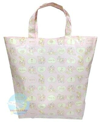 New! SANRIO KAWAII My Melody Tote Bag  Size -L- You Will be Noted Feel Free Use