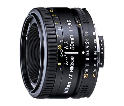 Prime Lens for Nikon DSLR Camera Full Frame Nikon 2137 AF Nikkor Lens 50mm F1.8D