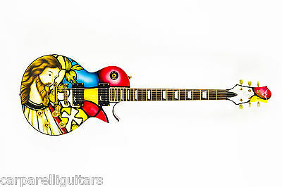 Artist Enhanced Carparelli Guitar