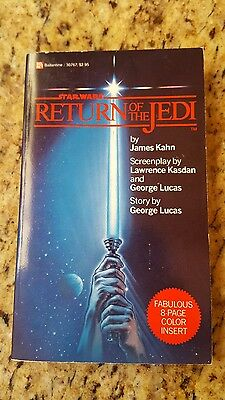 Star Wars Return Of The Jedi~1983 1st Edition Paperback Book~by James Kahn~VG+