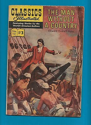 Classics Illustrated Comic Book # 131  The Man without a Country  #359