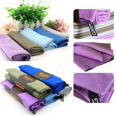Large Microfibre Sports Towels Quick Drying Beach Travel Gym Yoga Camping Towel