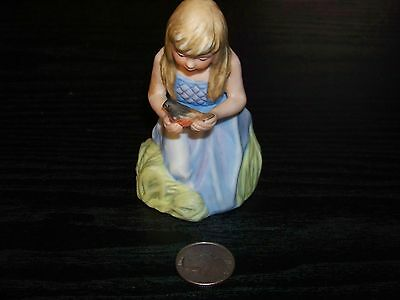 Porcelain Hamilton Collection girl figurine - Dawn - numbered 2093