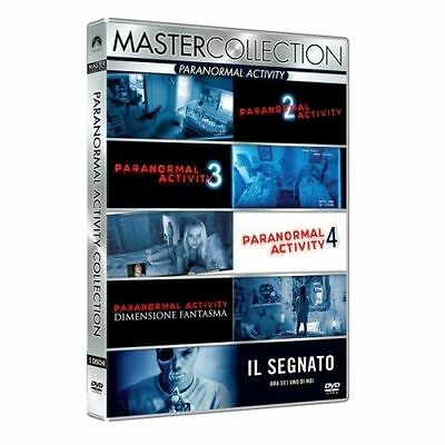 Cofanetto Paranormal Activity Master Collection (5 Dvd) Film Dvd Nuovo D-315161
