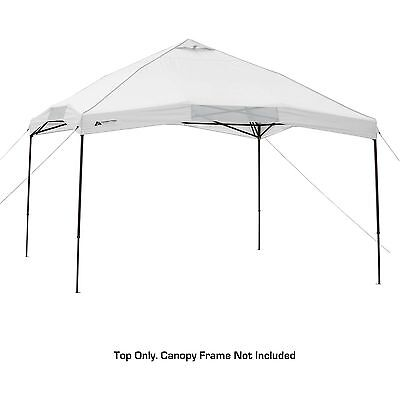 12u0027 x 12u0027 Canopy Top garden white Tent outdoor gazedo bbq party Sun Protection  sc 1 st  PicClick & COLEMAN 12x12 Instant Sun Shelter Canopy -Wheeled Carry BAG Only ...