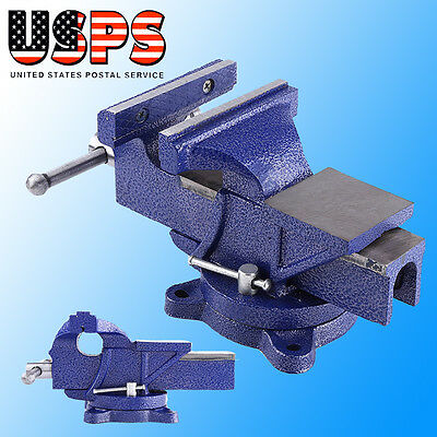 "5""  Bench Vise Heavy Duty Clamp 360 Swivel Locking Base Craft Vice Tool 6KG"