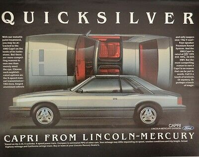 Lincoln Town Car 2 Page Print Ad 1981 10 99 Picclick