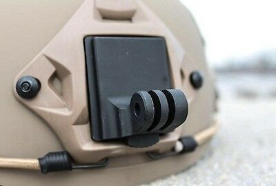 Aluminum NVG Mount compatible with GoPro® Cameras Military Helmet Mount