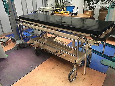 Hospital Patient Trolley/Hydraulic Examination Table/Physiotherapy Table Trolley
