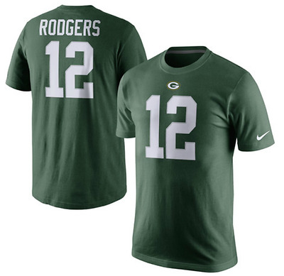 Green Bay Packers Aaron Rodgers Nike Player Pride T-Shirt