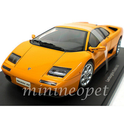 autoart 74527 lamborghini diablo 6 0 1 18 diecast model car orange cad picclick ca. Black Bedroom Furniture Sets. Home Design Ideas