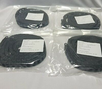 Lot of 4 IGUS Energy Chain Cable Carrier E2C1020028- 6MC -E SERIES Snap Open
