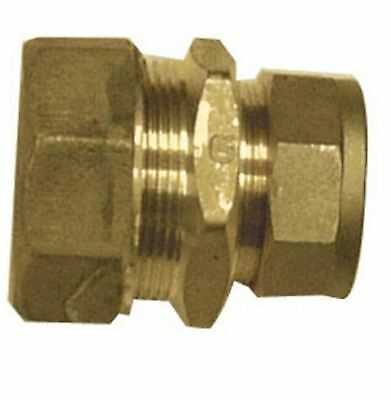 25mm MDPE to 15mm Compression Reducing Coupling - Bag of 10