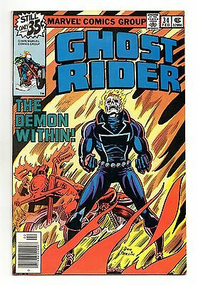 Ghost Rider Vol 1 No 34 Feb 1979 (VFN-) Marvel, Bronze Age (1970 - 1979)
