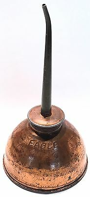 Vintage Copper Plated Eagle Oiler Can