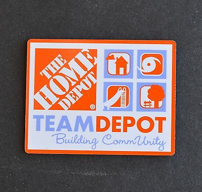 Home Depot Team Depot Apron Pin