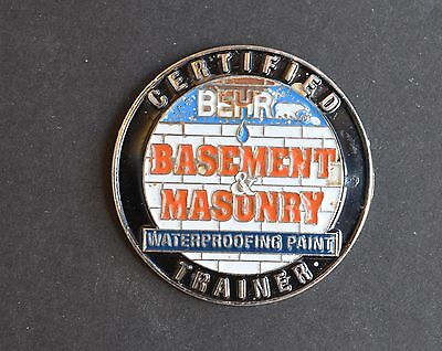 Home Depot Behr  Basement & Masonry Vendor Pin