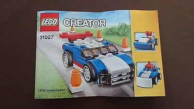 Lego Creator Blue Racer 31027: instructions only.