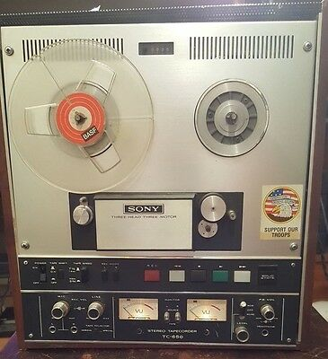 SONY TC-650 Reel to Reel Power up Parts and Repairs