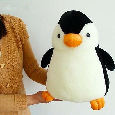 New Cute Penguin Kids Plush Toy Stuffed Animal Toy Doll Pillow