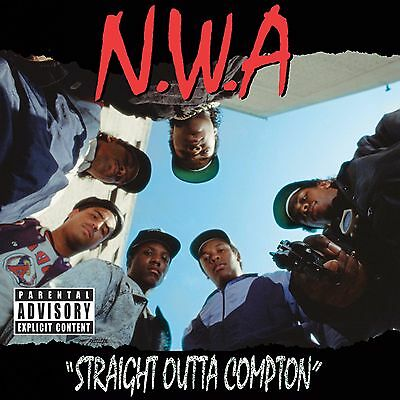 "NWA Straight Outta Compton 24"" x 24""Album Cover Poster Print Rap Music Gangster"