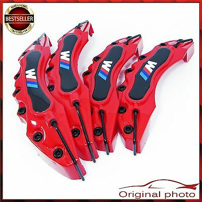 Red BMW M POWER Brake Caliper Cover Universal Disc Racing Front Rear Power TOP