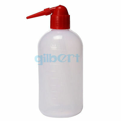 250/500ml Lab Squeeze Bottle Tattoo With Wash Red Bird Tip Plastic PE Laboratory