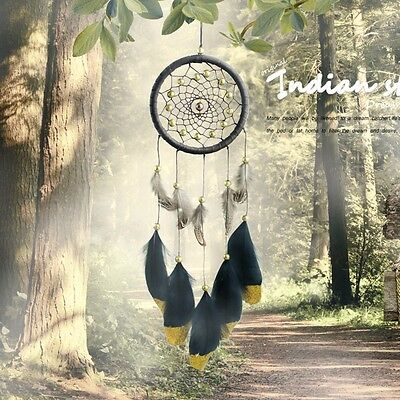 Large Handmade Dream Catcher Feather Home Wall Hanging Room Decoration Ornament