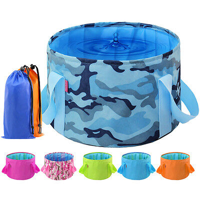 1 pcs Equipment Portable Outdoor Survival Folding Camping Basin Washbasin