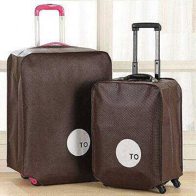 20'' 24'' 28'' Travel Luggage Suitcase Protector Cover Elastic Pouch Dust-proof