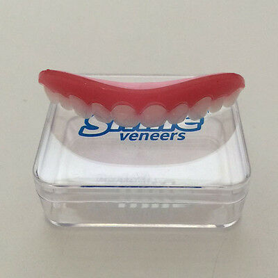 Instant Comfort Fit Smile Flex Teeth Top Cosmetic Veneer One Size Fits All